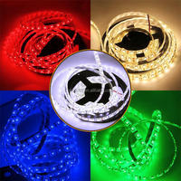 Colorful 5050 RGB LED Strip Water-Resistant 300LEDs RGB Flexible LED Strip Light Lamp Kit For Christmas Thanksgiving