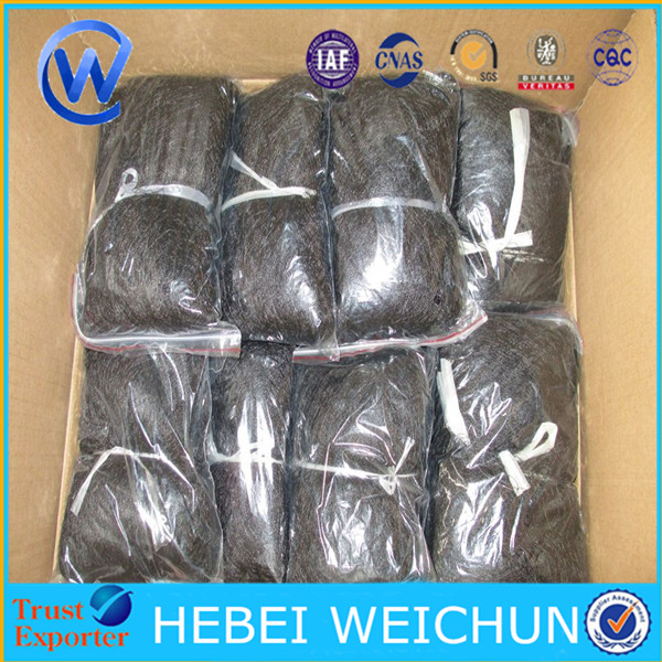 virgin plastic knitted ext strong Mist bird net/bird capture nets