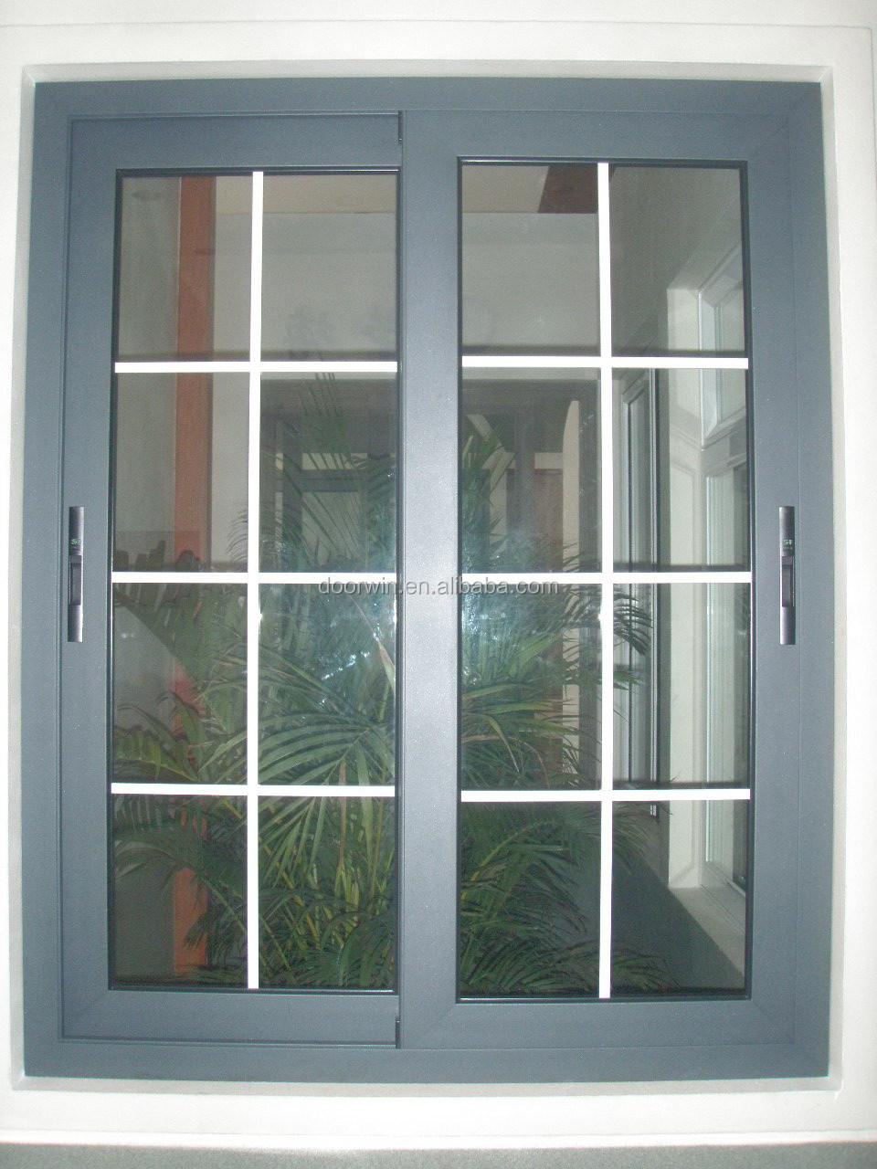 Powder Coated Windows : Powder coated aluminum sliding window view