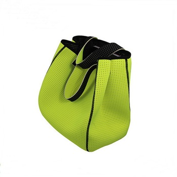 Hot tend good quality neoprene tote bag,women fashion handbag for traveling shopping sport