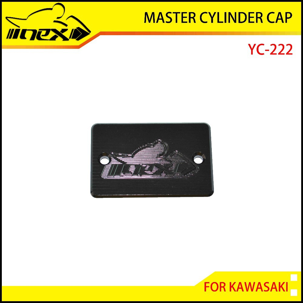 2015 New Product NEX Forged CNC Miling Master Cylinder Cap for Kawasaki