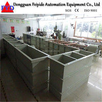 Feiyide rack electroplating tank for rack nickel galvanizing machine