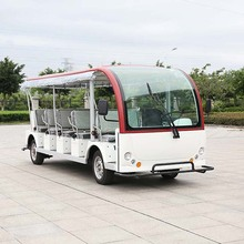 CE Certificated electric sightseeing mini bus with 23 seats