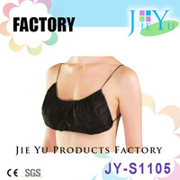 Disposable Nonwoven Bra soft material bra sex underwear for SPA salon beauty hotel