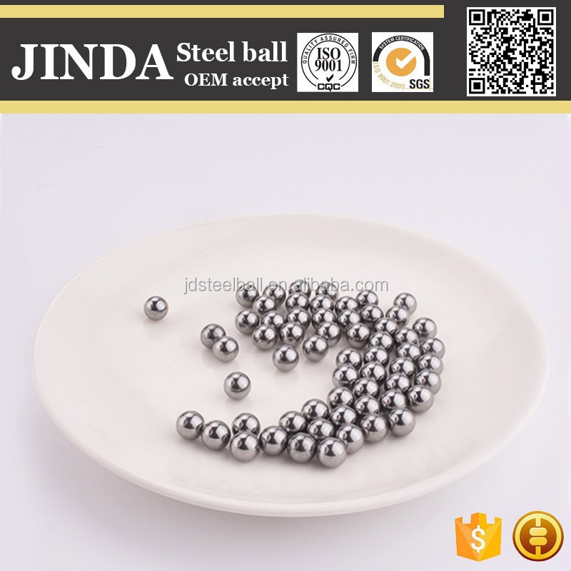 Slide Rail Parts G10 to G1000 Stainless Steel Mill Steel Balls for Slingshot