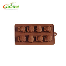 LD-C0039 Reasonable Price Unique Design Various Colors 3D Chocolate Silicone Mold