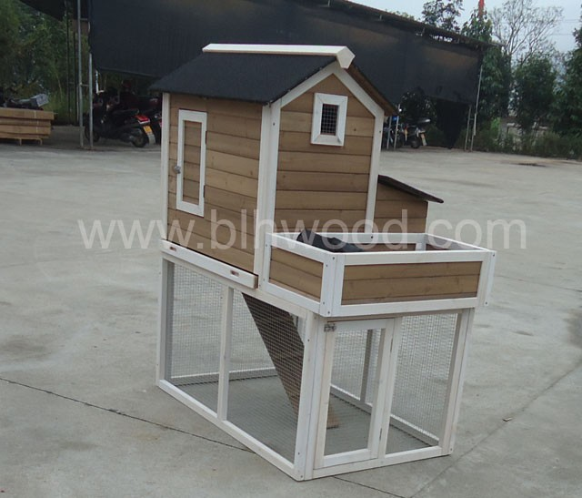 Hot Sell Wooden Chicken Coop with Planter BP-C1409