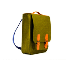 Eco-friendly Custom Polyester Felt Laptop Backpack