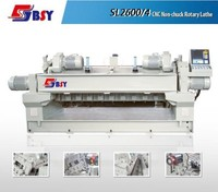veneer peeling lathe machines/veneer guillotine machines/wood log peeling machine