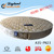 Foshan pocket spring king round mattress #A35-PN23#