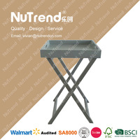 Most Popular Creative Customized wooden table with wicker drawers