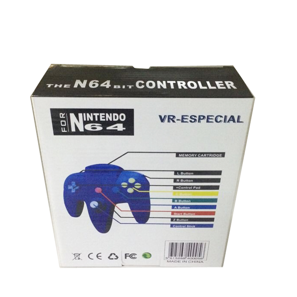Gamepad Joystick for N64 usb Super Retro For N64 Controller Usb PC Windows Blue