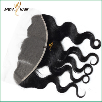 costom-made Peruvian body wave unprocessed hair 13x4 lace frontal piece for black women daily use hair products