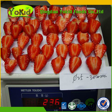 New Crop Sweet charlie Grade A Frozen Strawberries IQF Diced Strawberry