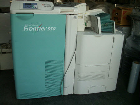Used Minilab FUJI FRONTIER 550 (SP3000 / LP5500)