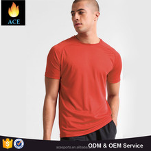 Men summer apparel 100% cotton round neck t shirts customize for men