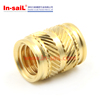 Ultrasonic And Heat Staking Brass Knurled