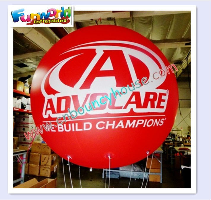 outdoor advertising inflatable balloon for events