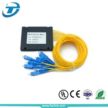 1310/1550 Passive Fiber Optic outdoor plc splitter