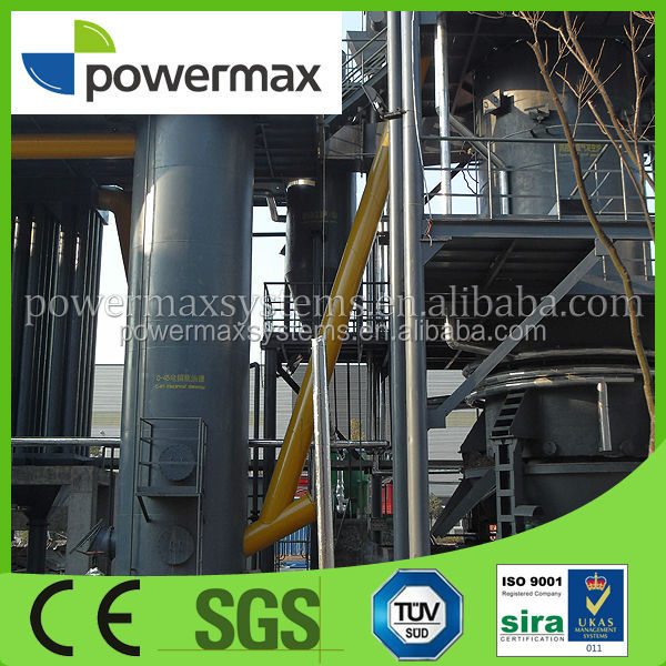 CE certified COFFEE RESIDUE biomass gasification power plant