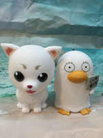 Collectiable game character customized plastic doggie coin bank