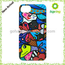 For iPhone water transfer printing hard case