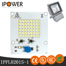 High-intensity AC LED modules for waterproof IP65 flood light used to illuminate outdoor playing fields