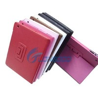 PU Leather Case flip cover case for tablet For Apple iPad 2