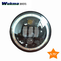 Round 5.75inch 5 3/4 sealed beam Harley motorcycle Projector 50w Daymarker LED Light Bulb Headlight DRL for Harley