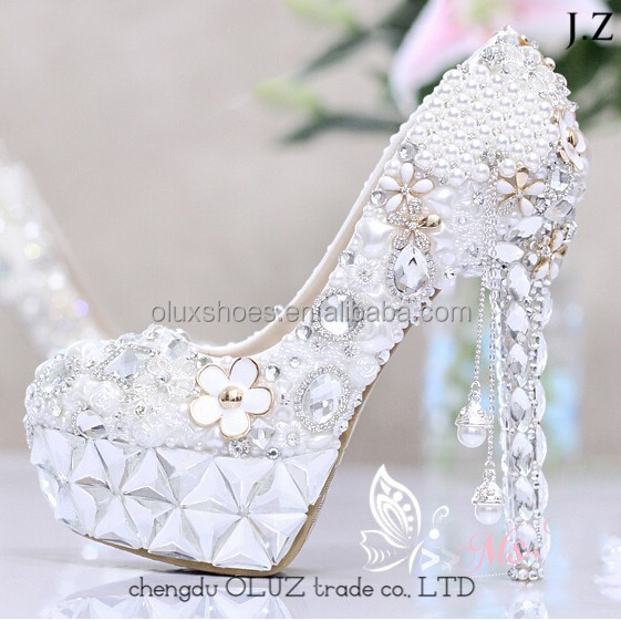 OW06 big size women italian brand name italian shoe manufacturer platform high heel shoes