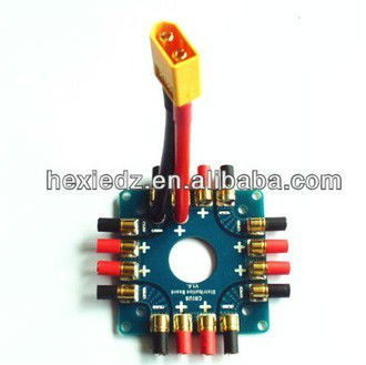 Power Battery ESC Distribution Board with XT60 connector for Multicopter Quadcopter