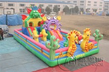 used commercial giant dragon inflatable jumping bouncer