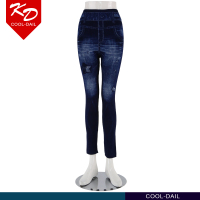Guangzhou jeans manufacturer new style fashion ladies trousers