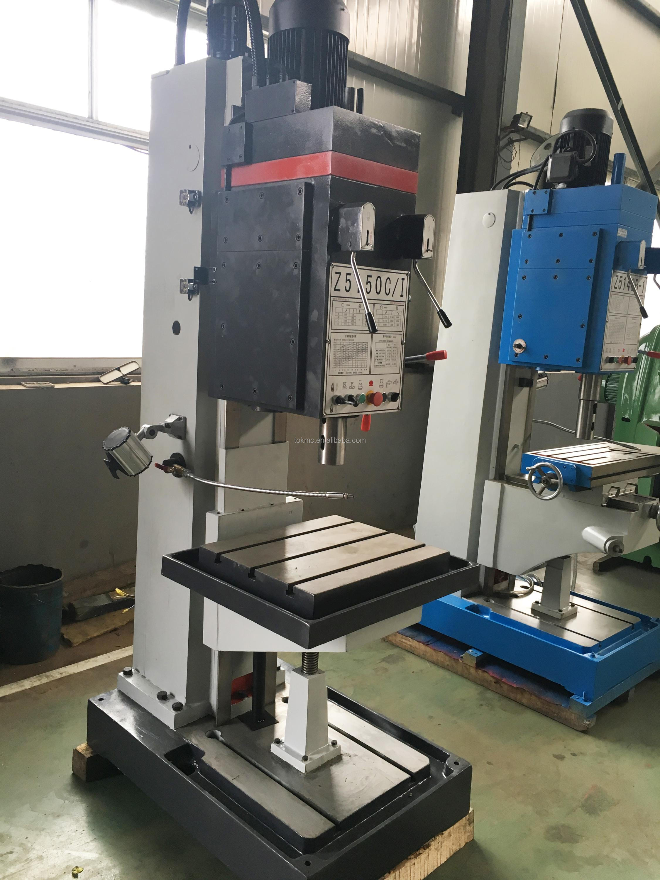 Gear head Pillar drilling machine price z5140