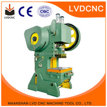 2017 LVD CNC top selling bag handle punching machines j23 10ton in high quality
