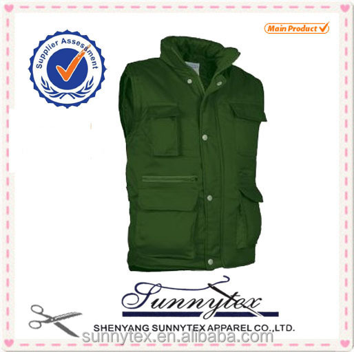 Winter Multi-pockets Work Vest
