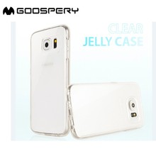 Wholesale Mercury Goospery Soft Transparent TPU Phone Case For Samsung for iphone