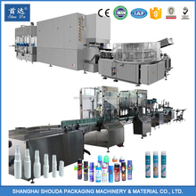Full Automatic aerosol Filling Machinery production Line with Trade Assurance