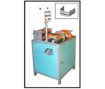 FULL AUTOMATIC WROUGHT IRON COLLAR CUTTING AND BENDING MACHINE