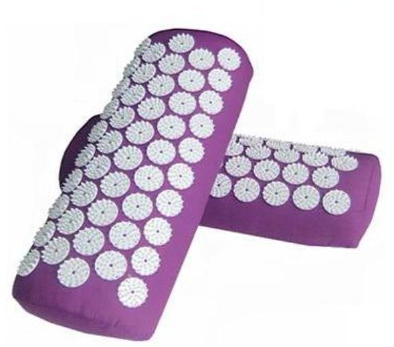Acupressure Pillow/Acupressure Mat and Pillow Set for Back/Neck Pain Relief and Muscle Relaxation