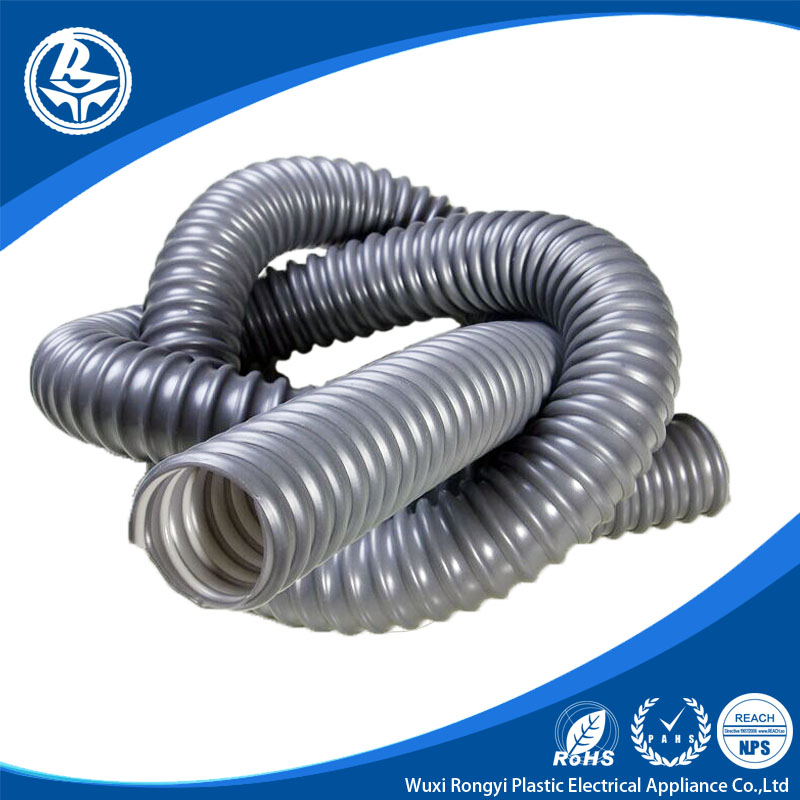 Factory Manufactured Black pvc reinforced Flexible Hose
