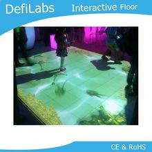 interactive floor projetion usd in hotel