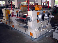 xk-250 rubber two roll open mill