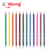 Yalong TQ77023 New fashion plastic stand pencil plastic color pencil set for coloring