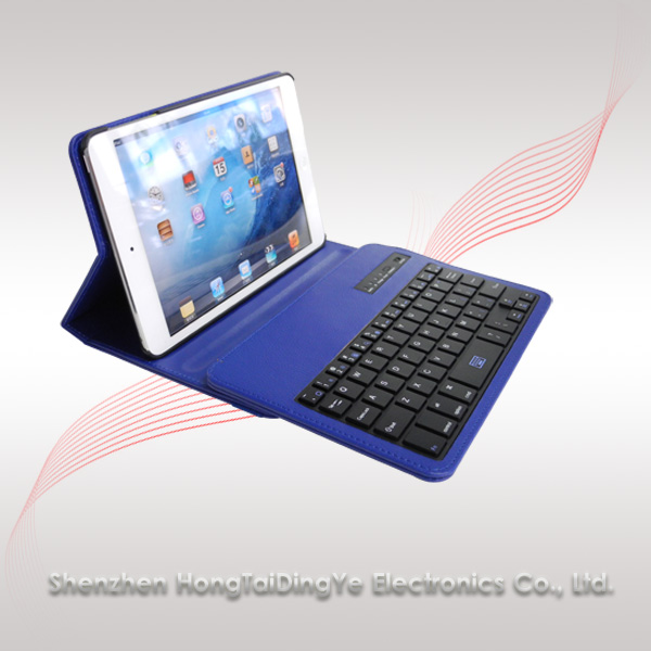 360 rotation case cover Bluetooth Keyboard for iPad Mini