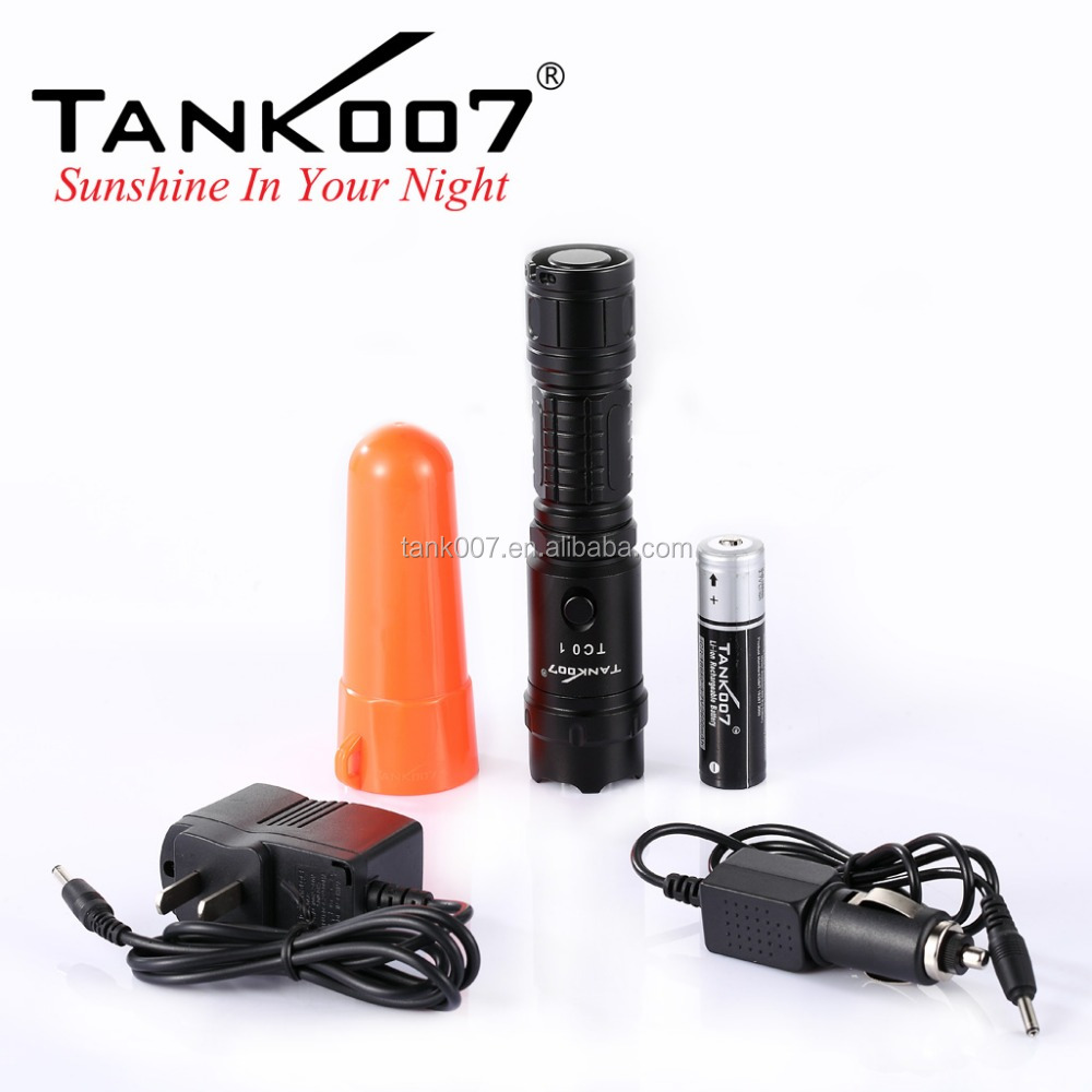 Strong light led rechargeable flashlight <strong>U2</strong> 10000lumens bright torch light TC01