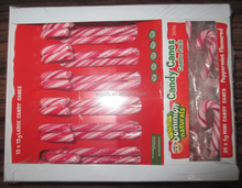 12g Candy Canes + 5g Mini Candy Canes (Natural Colours & Natural Flavours)