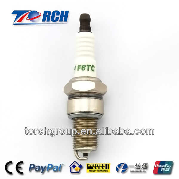 Manufacture supply directly F6TC motorcycle spark plug match for NGK BP6ES