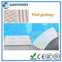 2015 new style new price fACTORY pvc pool grating / plastic pvc gratings