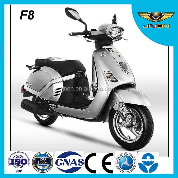 F8 50CC 49CC JNEN Motor Italy Classic Style Retro Gasolina Gas Scooter 4 Stroke Mini Moped With Powerful JNEN Engine Passed EEC
